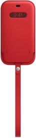 Чехол Apple iPhone 12 Pro Leather Sleeve with MagSafe, красный