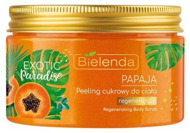 Kūno šveitiklis Bielenda Exotic Paradise Sugar Scrub Papaya, 350 ml