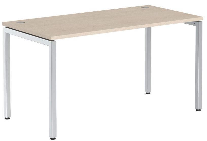 Skyland Xten-S XSST 147 Work Desk 140x70cm Oak Tiara/Aluminum
