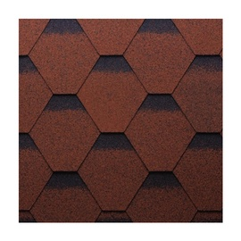 Technonicol Bitum Shingles Sonata Kadril Plus Brown