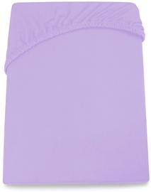 Palags DecoKing Amelia, violeta, 100x200 cm, ar gumiju