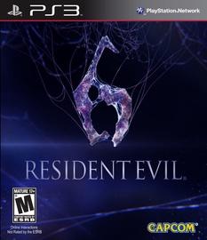 Resident Evil 6 US Version PS3