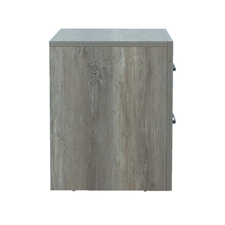 Naktinis staliukas Home4you Flow 13826, ąžuolo, 62x41x51 cm