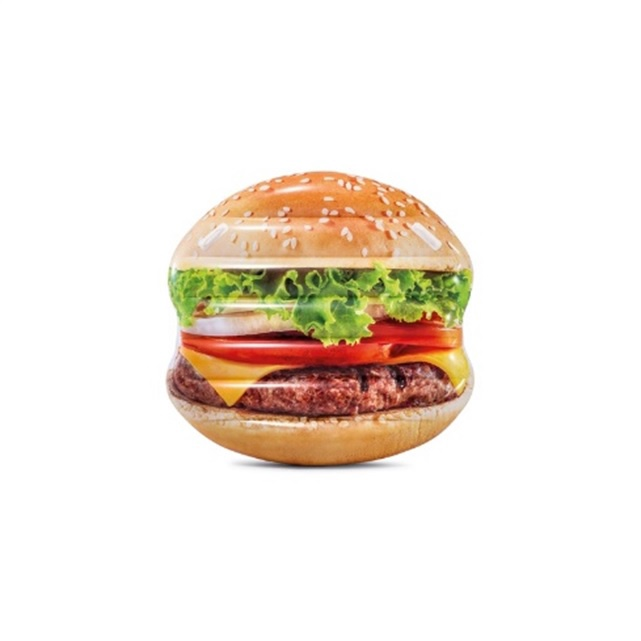Ujumismadrats Intex Hamburger, 145 x 142 cm