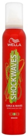 Wella Shockwaves Curls And Waves Shaping Defining Hair Mousse Long Lasting 200ml