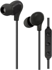 Qoltec Bluetooth Earphones w/Mic Black 50821