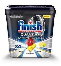 Капсулы для посудомоечной машины Finish Quantum Lemon, 84 шт.
