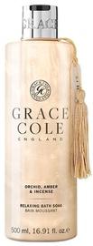 Grace Cole Relaxing Bath Soak 500ml Orchid, Amber & Incense