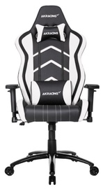 Žaidimų kėdė AKRacing K6014 Black/White