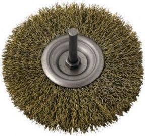 Ega Brass Rotary Brush 75mm
