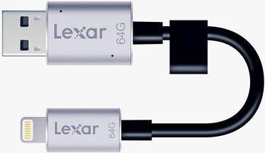 Lexar JumpDrive 64GB C20i Flash Drive