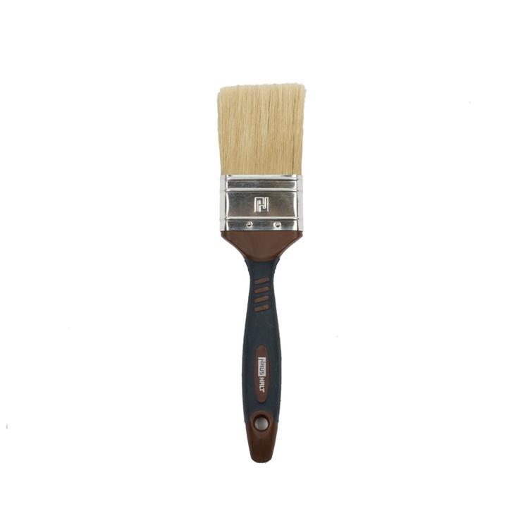 HausHalt Flat Brush RJ3348 Mixed Black/Brown 50mm