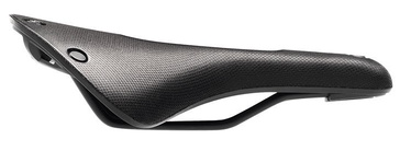 Brooks England Cambium C19 Carved All Weather 184mm Black