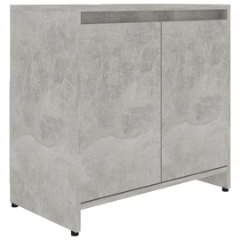 Шкаф для ванной VLX 802646, серый, 33 x 60 см x 58 см