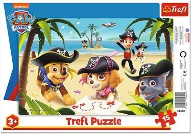 Trefl Frame Puzzle Paw Patrol 15pcs 31350