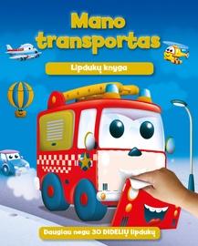 Knyga Mano transportas. Lipdukų knyga