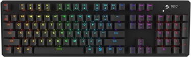 SPC Gear GK540 RGB Mechanical Gaming Keyboard Kailh Brown EN Black