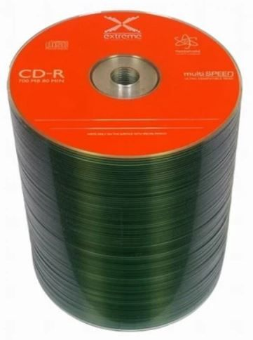 Extreme CD-R 700MB / 80min 52x 100pcs