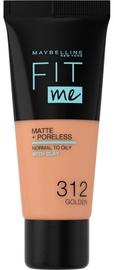 Крем пудра Maybelline Fit Me Matte & Porless 312 Golden