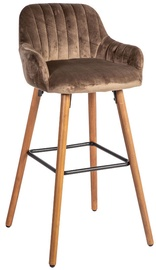 Home4you Bar Stool Ariel Brown