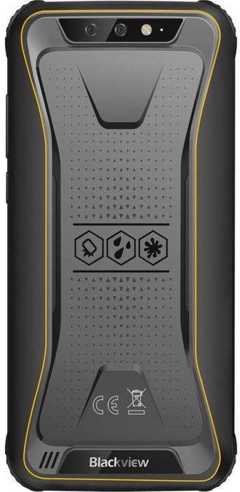 Мобильный телефон Blackview BV5500 Plus Black/Yellow, 32 GB