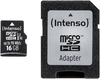 Intenso Professional 16GB microSDHC UHS-I Class 10 3433470