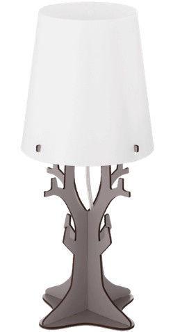 Eglo Huntsham 49366 Table Lamp 40W E14 Gray/White