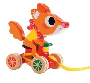 Djeco Pull Along Scouic Fox