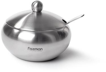 Fissman Sugar Bowl With Steel Lid And Spoon 560ml