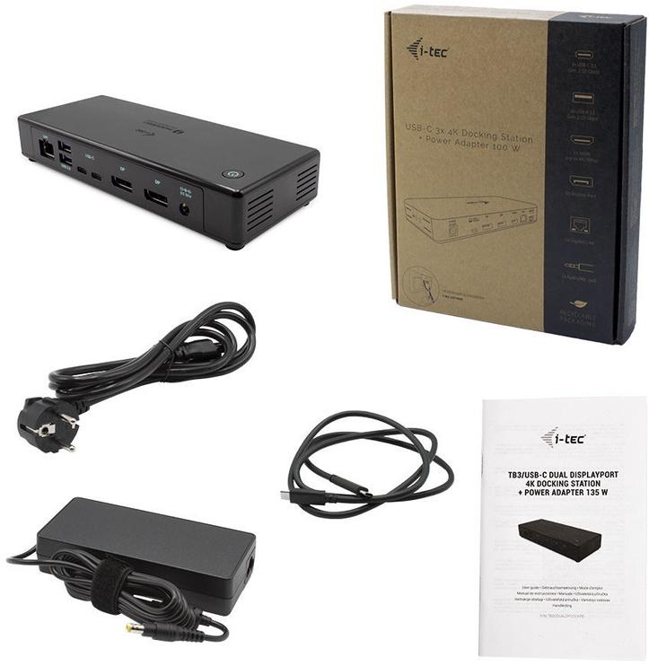 I-Tec Thunderbolt3 / USB-C Dual Docking Station TB3CDUALDPDOCKPD