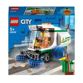 Конструктор LEGO City Машина для очистки улиц 60249, 89 шт.