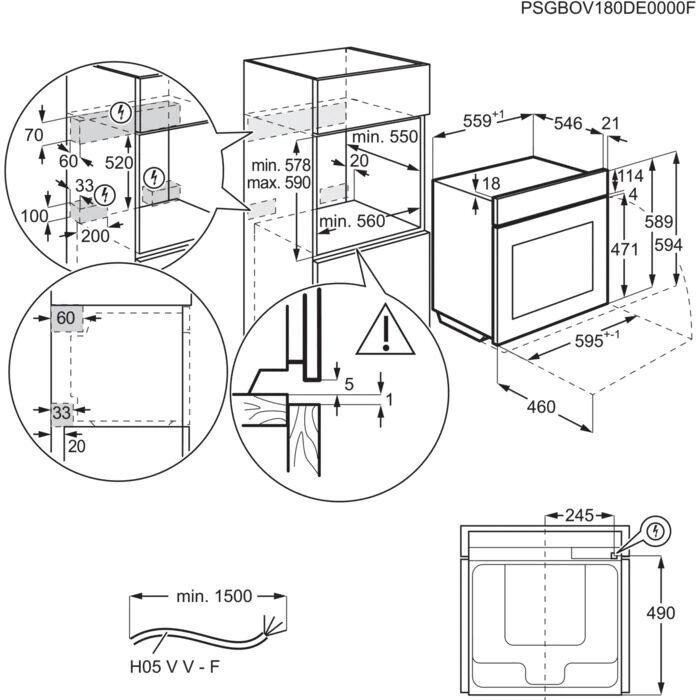 Cepeškrāsns Electrolux KODEC75X