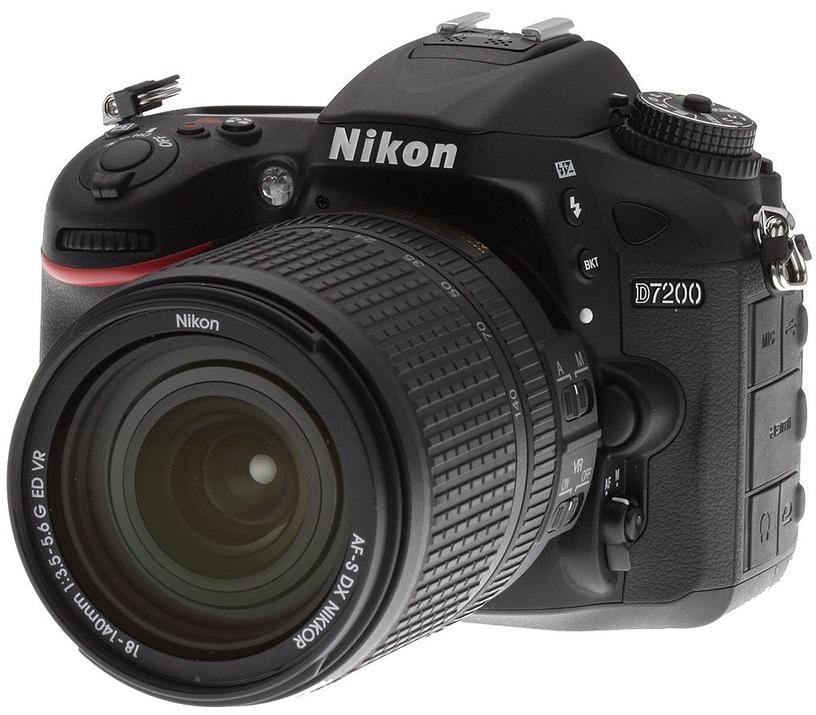 Nikon D7200 KIT+AF-S DX 18-105 f/3.5-5.6G ED VR