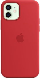 Apple iPhone 12/12 Pro Silicone Case with MagSafe Red