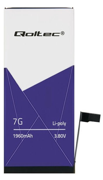 Qoltec Battery For Apple iPhone 7 1960mAh