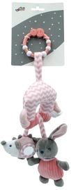 Погремушка Tulilo New Baby Rabbit, розовый