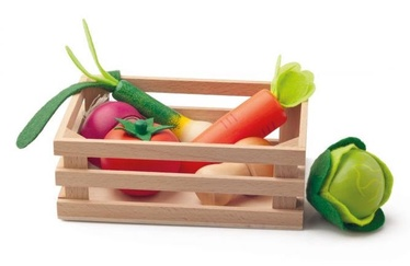 Woody Crate With Vegetables 91169