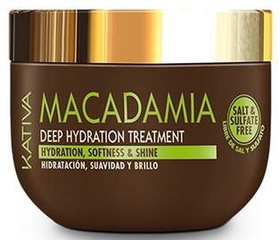 Kaukė plaukams Kativa Macadamia Deep Hydration, 500 g