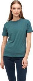 Audimas Womens Stretch Cotton T-shirt Mallard Green S