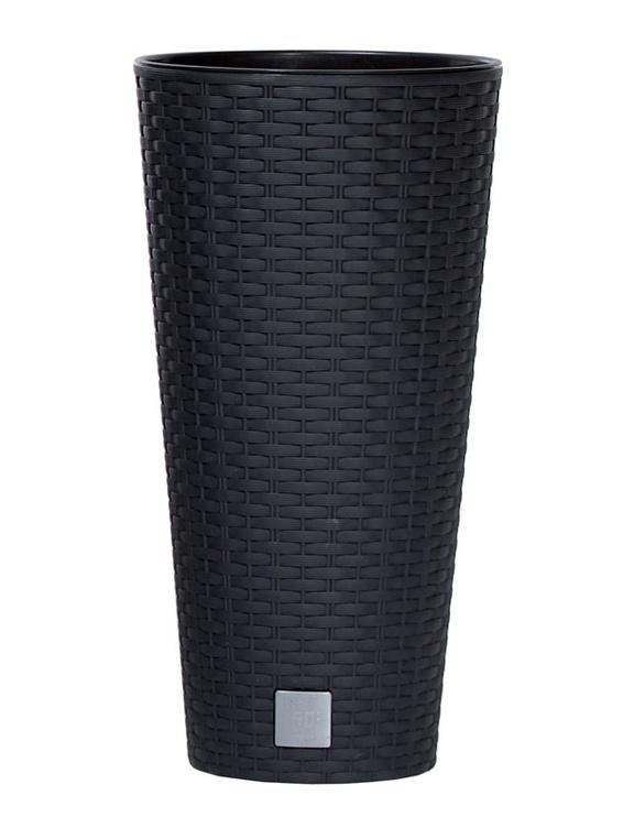 Puķu pods Rato Tubus, 30x57cm, tumši pelēks