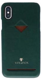 Vix&Fox Card Slot Back Shell For Apple iPhone X/XS Green