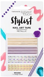 Elegant Touch Stylist Nail Art Tape Metallic