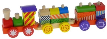 Playme Colourful Wooden Train