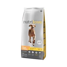 Sausas ėdalas šunims Nutrilove Active, su vištiena, 3 kg