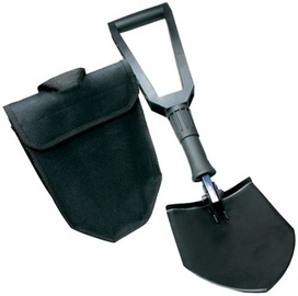 EuroTrail Double Folding Shovel