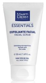 Sejas skrubis Martiderm Essentials Facial Scrub, 50 ml