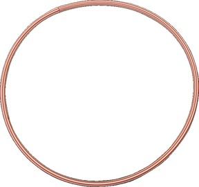 Гимнастический обруч Yate Hoop, 700 мм, красный
