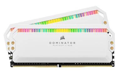 Corsair Dominator Platinum White RGB 32GB 3200MHz CL16 DDR4 KIT OF 2 CMT32GX4M2C3200C16W