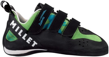 Millet Hybrid LD Climbing Shoes Black / Green 38 2/3