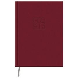 Darbo kalendorius, 14,5 x 19,2 cm, raudonas